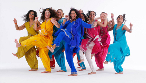 Novidade!Bollywood Laugh Yoga Dance
